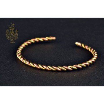 Armband Kupfer/Messing gedreht