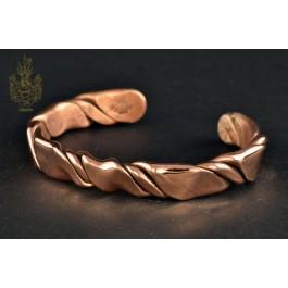 Armband Kupfer, gedreht