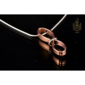 Kettenanhänger Kupfer/925er Sterling-Silber
