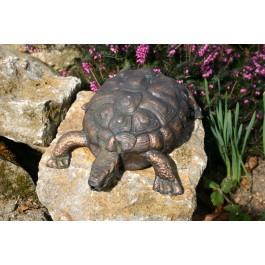 Gartenfigur Schildkröte / Kupfer