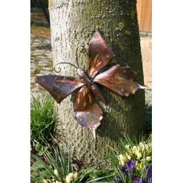 Wandbild/Wanddeko Schmetterling, Kupfer