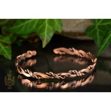 Armband Kupfer/gedreht