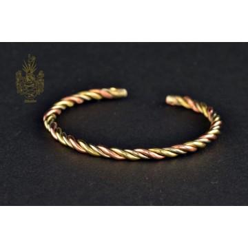 Armband Kupfer/Messing/Neusilber gedreht